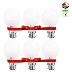 LED LAMP - 9W WHITE - Pack of 6