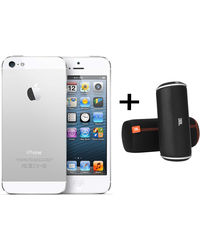 iPhone 5 16GB White JBL Offer