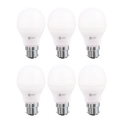 LED LAMP - 7W WHITE - Pack of 6