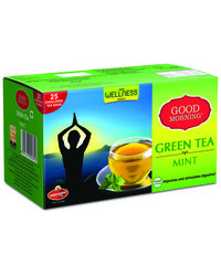 Good Morning Green Tea Mint, 25 Tea Bags, 25 tea bags