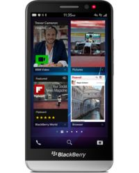 BlackBerry Z30, black silver