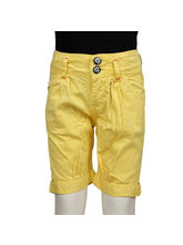 Tales and Stories Solid Girls Capri, multicolor, 7 8y