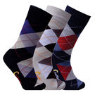 CottStrings Combo Pack of 3 Socks, multicolor