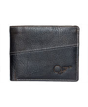 Vibgyor Leather Wallet For Men - VGWOLP10231BLK, black