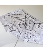 Cool Trends Newspaper Umbrella, White
