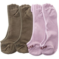 Peds Socks (Set Of 2), 20 cm,  purple/olive