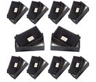 Wholesale Lot of 10 Men Stylish Pure Leather Visiting n Credit Card Holders, black