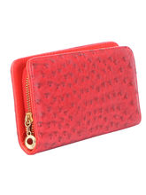 SkyWays Artificial Leather Wallet For Woman, Red