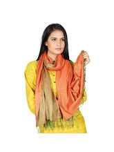 Rivayat Classic Art Krisha Women Scarf, Orange