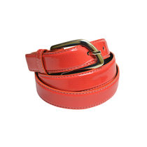 SkyWays Leatherette belt For Women,  orange