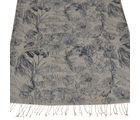 Elabore Silk Wool Printed Stole For Women, cream