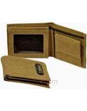 Smart Beige Colour Cotton Canvas Gents Wallet
