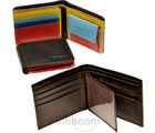Smart Export Quality Pure Leather Wallet Pair (Multicolor)