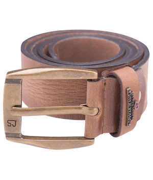 Casual Belt, m,  tan