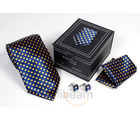 Necktie Gift Set in Leatheritte (Multicolor)