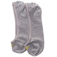 Peds Socks (Set Of 2), 20 cm,  black/grey melange