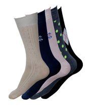 Arrow Men Socks Buy 3 Get 2 Free (Multicolor)