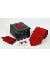 Necktie Gift Set Leatheritte Packing