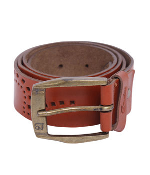 Casual Belt, l,  tan