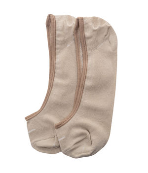 Peds Socks (Set Of 2), 20 cm,  beige/ash