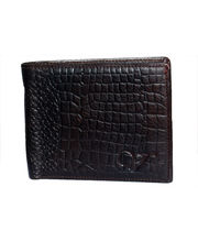 Vibgyor Leather Wallet For Men - VGWOLP10151BRN, brown