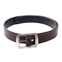 SkyWays Leatherette belt For Men,  brown