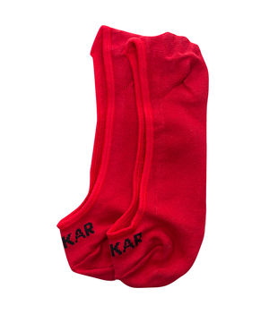 Peds Socks (Set Of 2), 20 cm,  red/skin