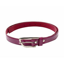 SkyWays Leatherette belt For Women, purple