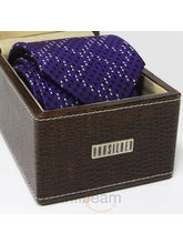 Orosilber 100 % Silk Ties (Purple)