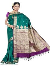 Beautiful Silk Saree 289 (Multicolor)
