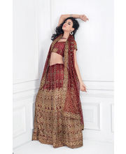 Hypnotex Cotton Designer Lengha Choli XLNC8011B, Multicolor