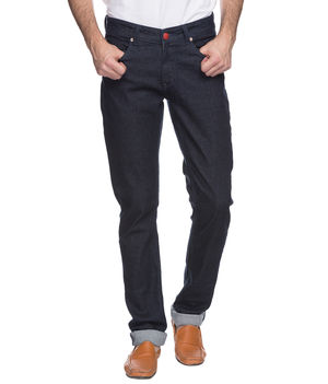 Skinny Low Rise Narrow Fit Jeans,  raw blue, 30