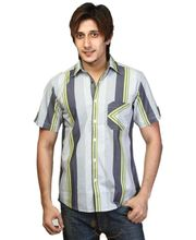 Crosscreek Casual Stripes Shirt - 740324