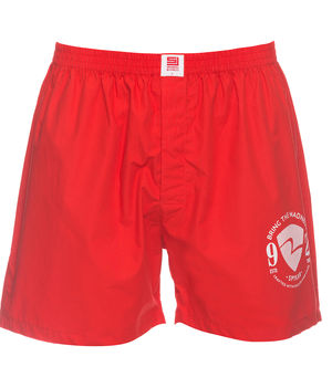Boxers Shorts,  red, l