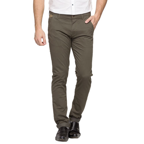 Slim Fit Chinos, 32,  olive