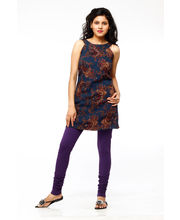 French Trendz Churidar Legging - LGCHCTSD5, Purple, 3xl