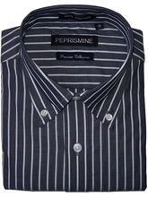 Peprismine Grey Tone Shirt (Multicolor, L)