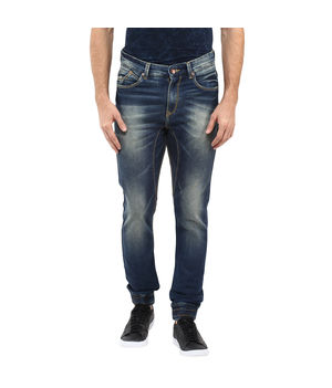 Denim Joggers,  blue, 38