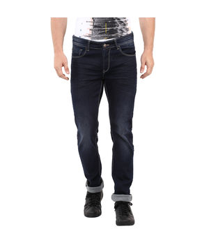 Skinny Low Rise Narrow Fit Jeans,  dark blue, 30
