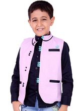 OKS Boys AdoringCasual Cotton Satin Twill Shirt For Boys, pink, 26