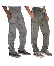 American Derby Pack Of 2 Track Pants- D7-TP-024-025, Multicolor