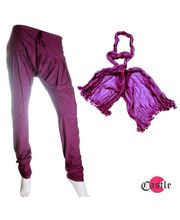 Castle Churidar Duppatta Combo - BDB3477, purple