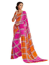 Good Karma Georgette Sarees - SULT5010, multicolor