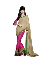 Hypnotex Pachmeena Smoke Print Pallu And Hastakala Jacquard Saree - Autograph 1713, Multicolor