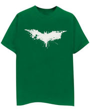 Champu Batman Faded Men's T-Shirt CHMP_ MT_ 333, Green, L