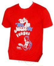 Fungus Round Neck Red Tshirt