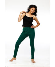 French Trendz Ankle Length Legging - LGALCTSA1, Dark Green, 3xl