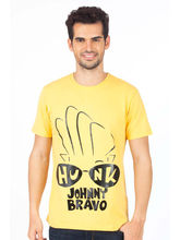 Planet Superheroes Johnny Bravo Hunk in Your Eyes T-Shirt, yellow, xxl