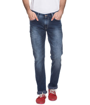 Skinny Low Rise Narrow Fit Jeans,  dark blue, 38
