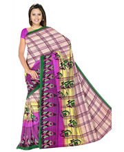 Designer Art Silk Saree With Unstitched Blouse - 29224-PK, Pink